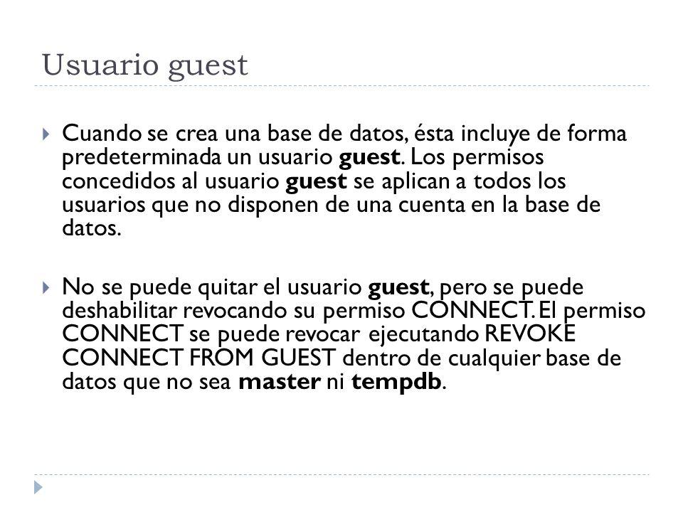 Usuario guest
