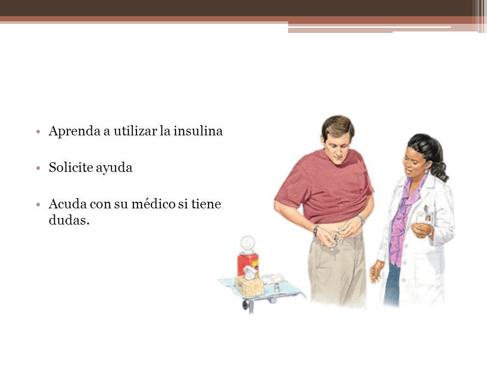 Aprenda a utilizar la insulina