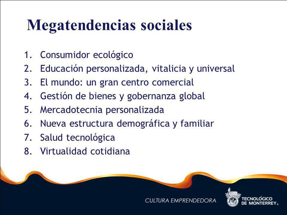 Megatendencias sociales