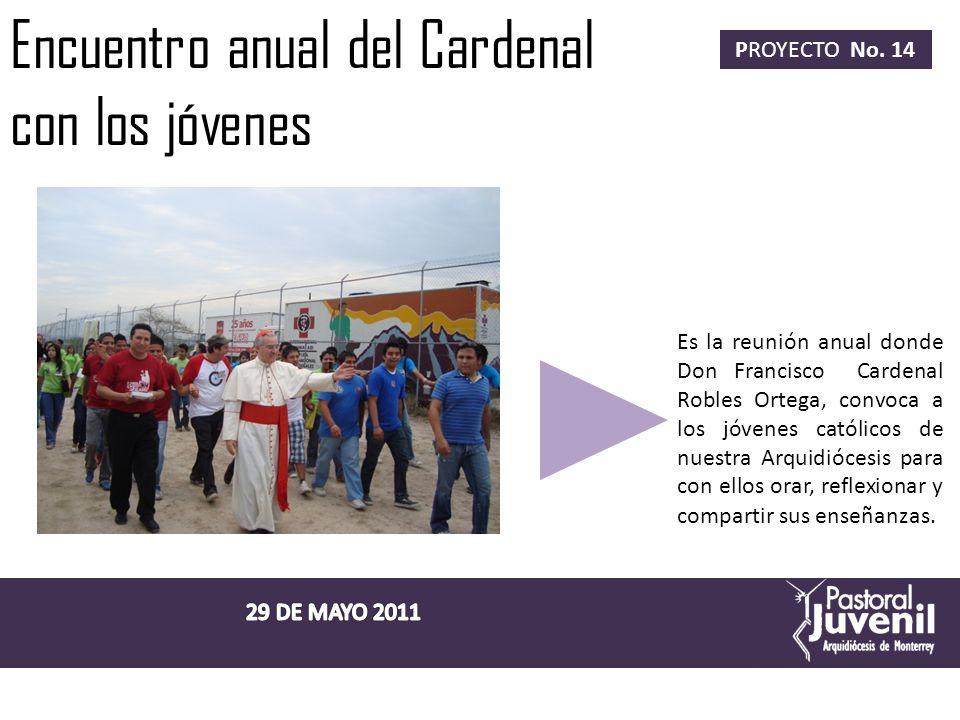 Encuentro anual del Cardenal con los jóvenes