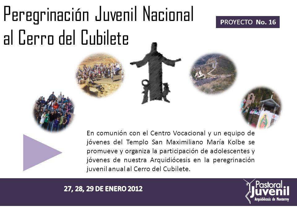Peregrinación Juvenil Nacional al Cerro del Cubilete