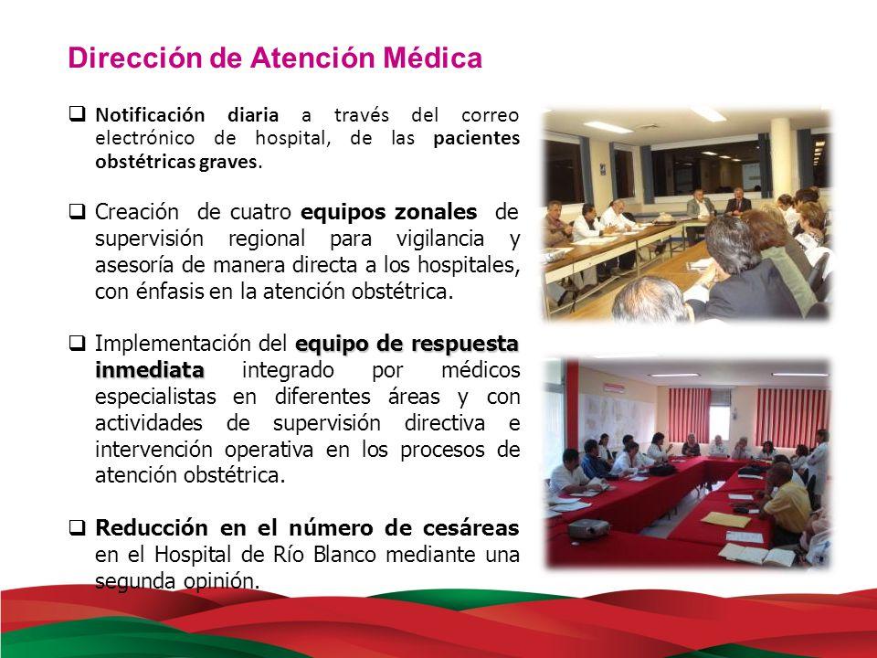 Dirección de Atención Médica