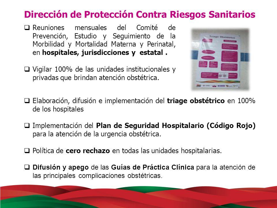 Dirección de Protección Contra Riesgos Sanitarios