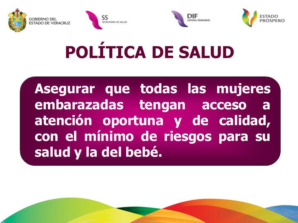 POLÍTICA DE SALUD