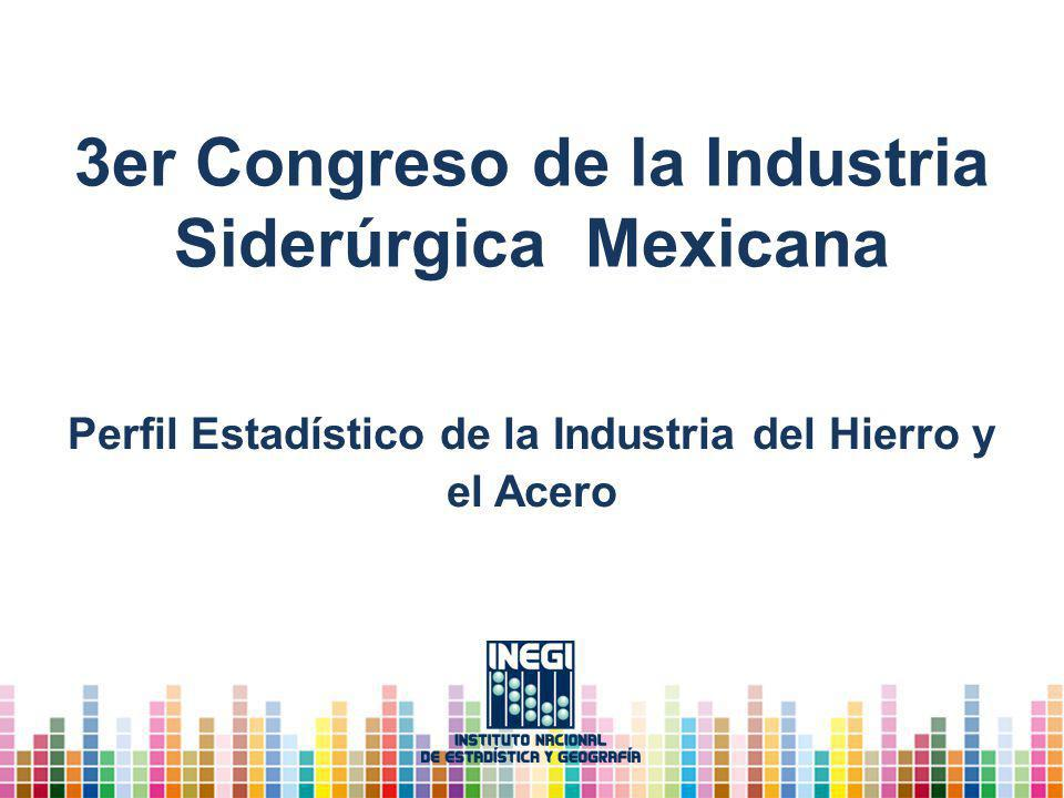 3er Congreso de la Industria Siderúrgica Mexicana