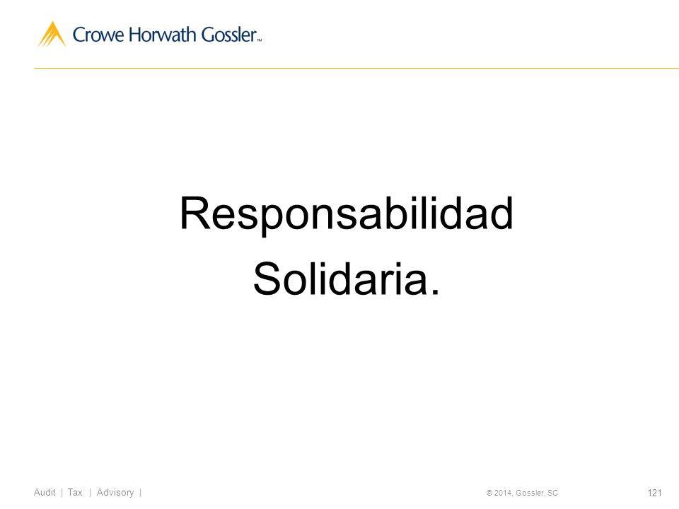 Responsabilidad Solidaria.