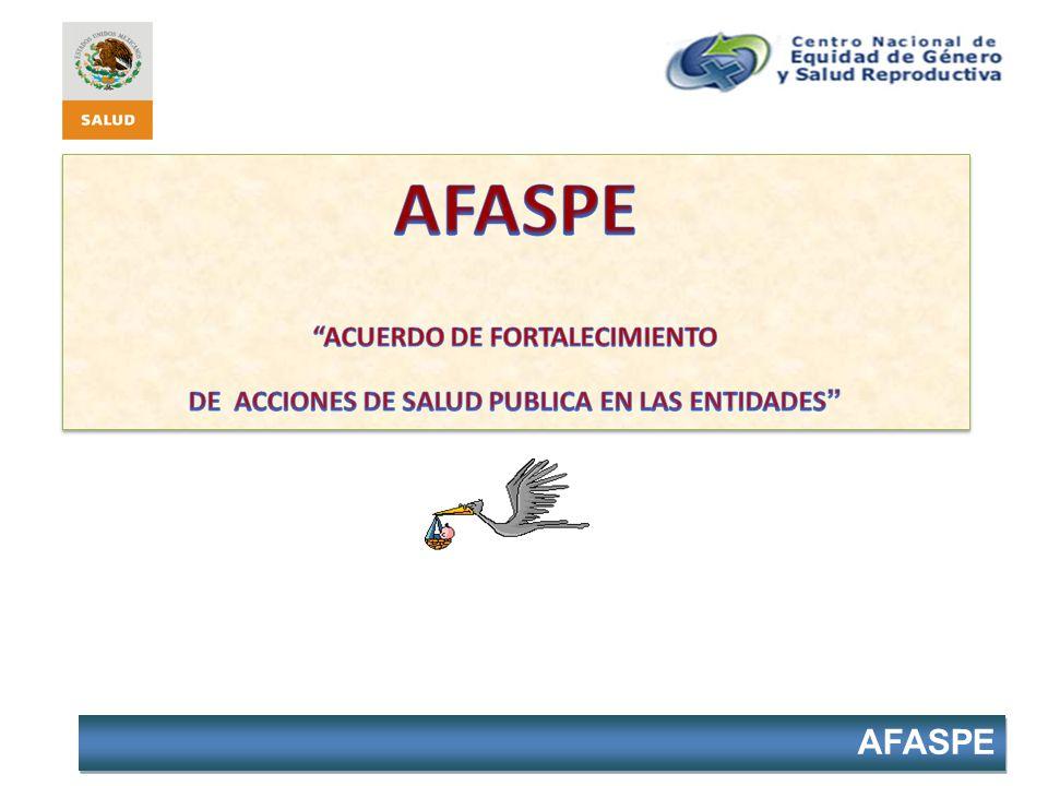 AFASPE ACUERDO DE FORTALECIMIENTO