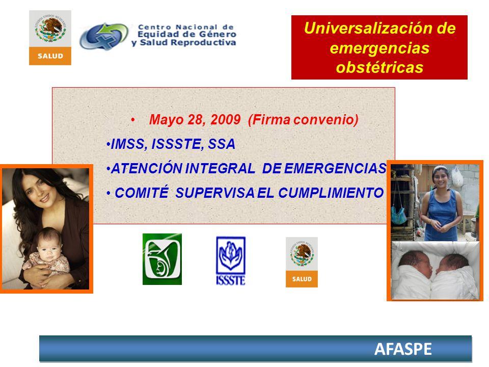 Universalización de emergencias obstétricas