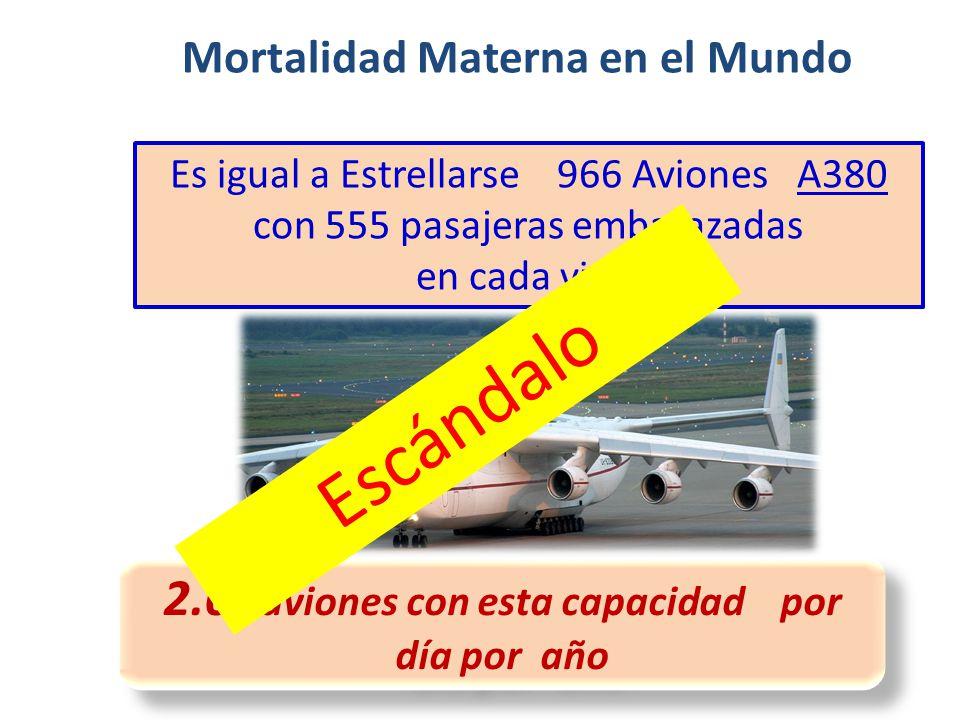 Mortalidad Materna en el Mundo