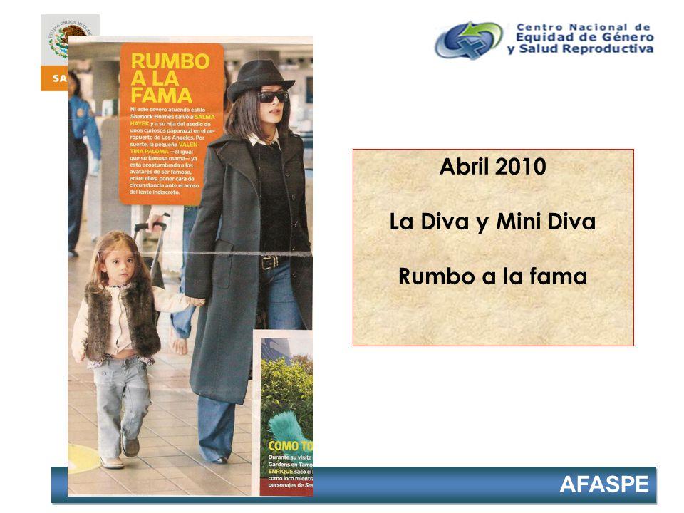 Abril 2010 La Diva y Mini Diva Rumbo a la fama