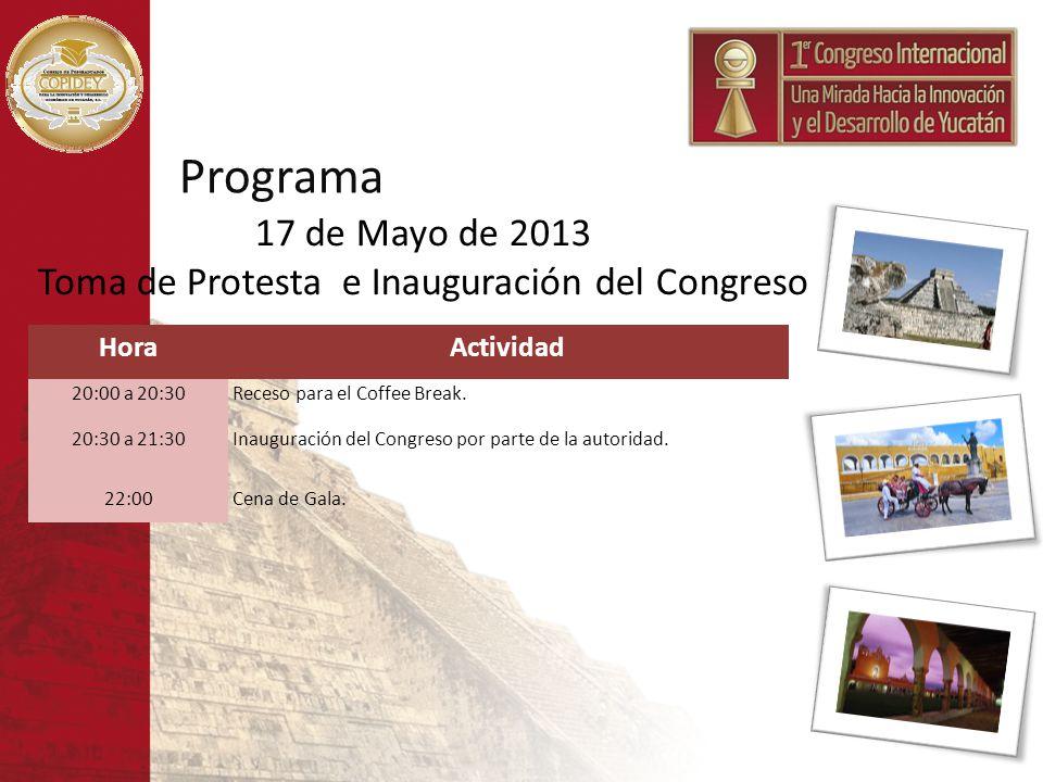 Toma de Protesta e Inauguración del Congreso