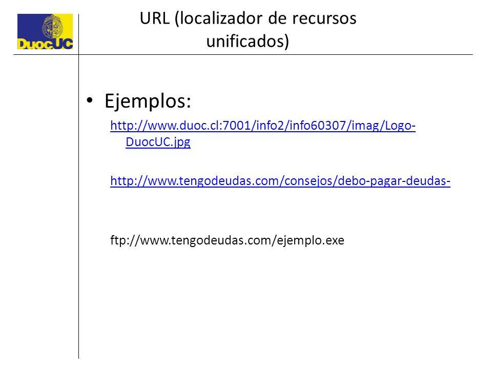 URL (localizador de recursos unificados)