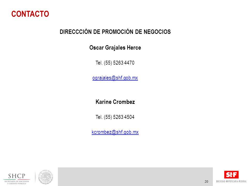DIRECCCIÓN DE PROMOCIÓN DE NEGOCIOS