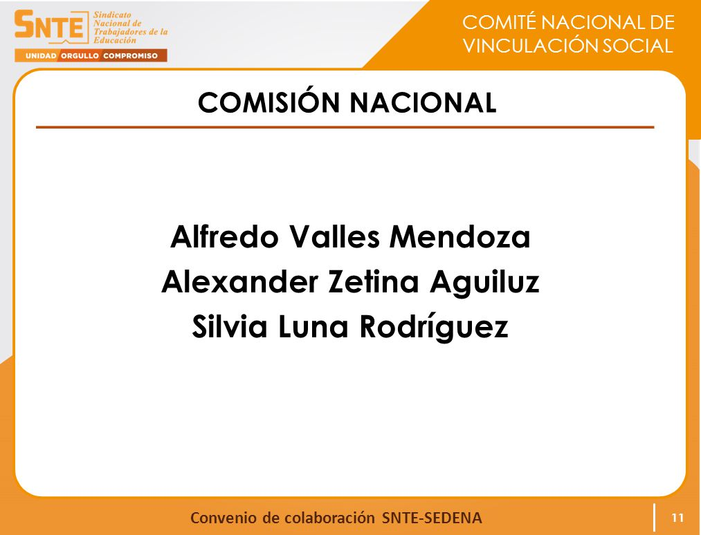 Alfredo Valles Mendoza Alexander Zetina Aguiluz Silvia Luna Rodríguez