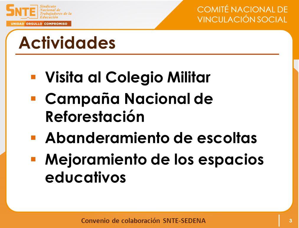 Actividades Visita al Colegio Militar