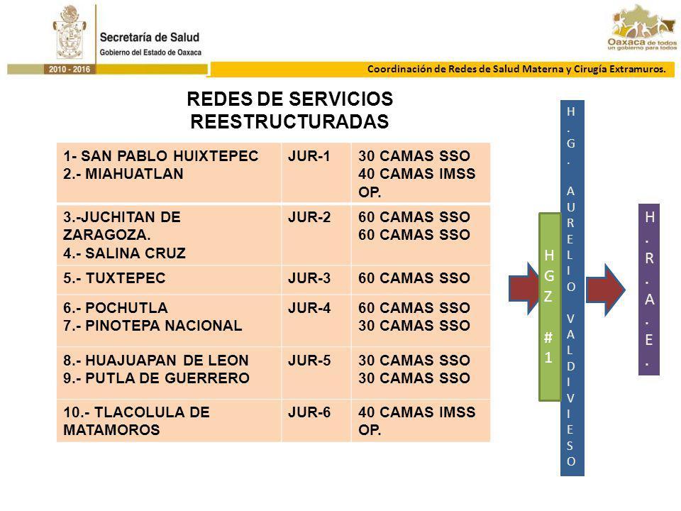 REDES DE SERVICIOS REESTRUCTURADAS