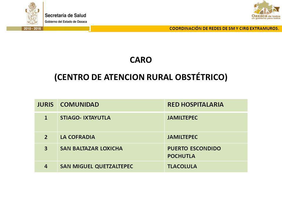 (CENTRO DE ATENCION RURAL OBSTÉTRICO)