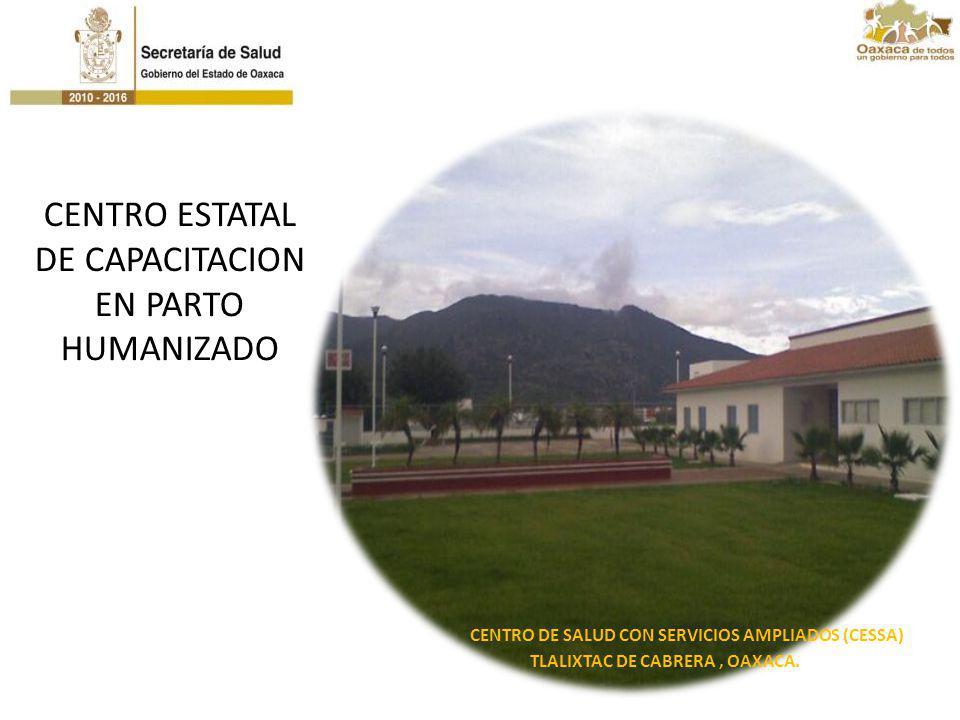 CENTRO ESTATAL DE CAPACITACION EN PARTO HUMANIZADO