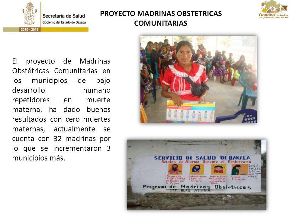 PROYECTO MADRINAS OBSTETRICAS COMUNITARIAS