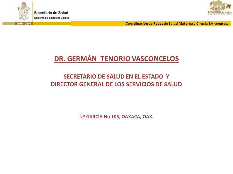 DR. GERMÁN TENORIO VASCONCELOS