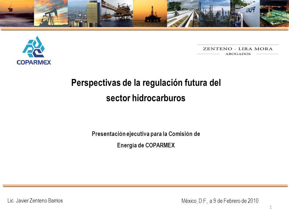 Perspectivas de la regulación futura del sector hidrocarburos