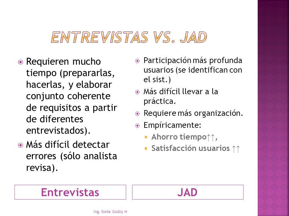 Entrevistas vs. JAD JAD Entrevistas