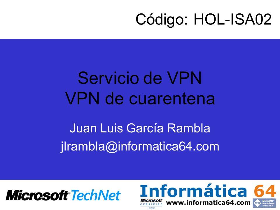 Servicio de VPN VPN de cuarentena