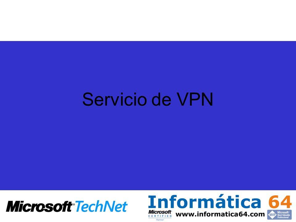Servicio de VPN
