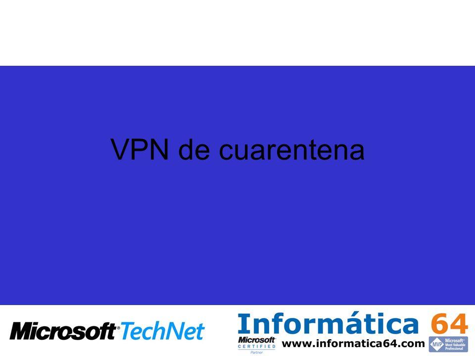 VPN de cuarentena