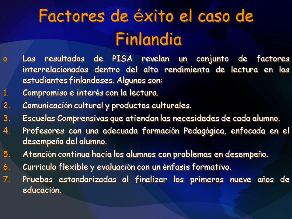 Factores de éxito el caso de Finlandia