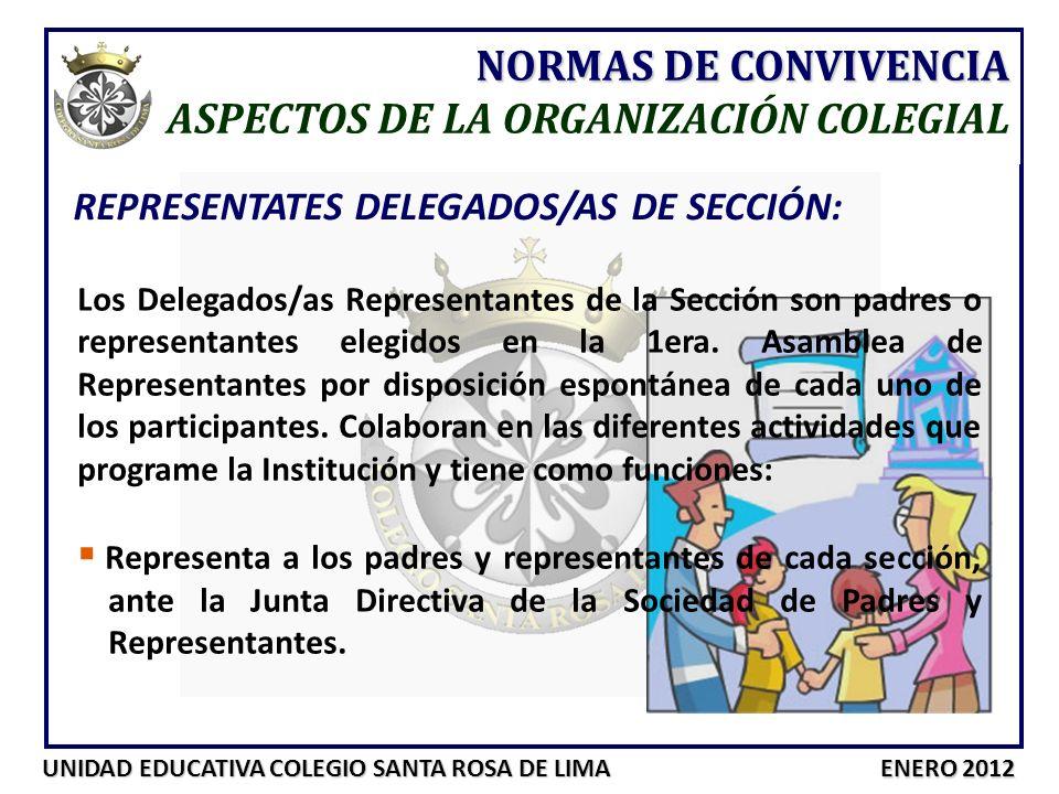 ASPECTOS DE LA ORGANIZACIÓN COLEGIAL