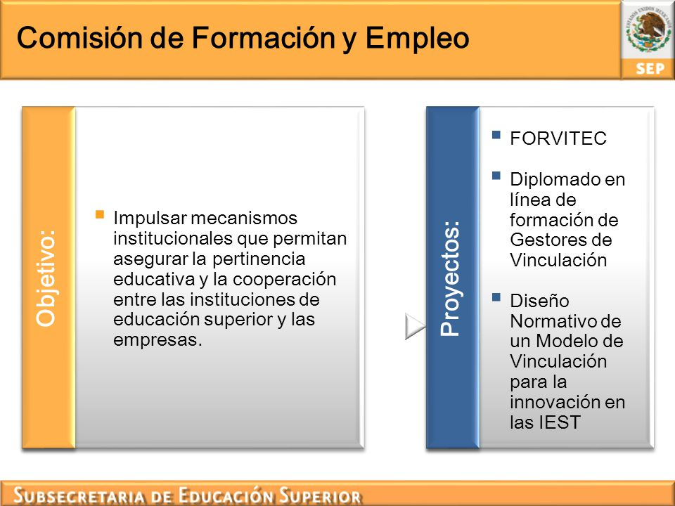 Comisión de Formación y Empleo