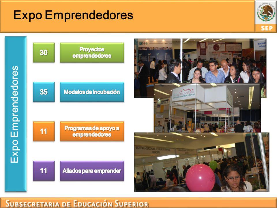 Expo Emprendedores Expo Emprendedores 30 35 11 Proyectos emprendedores
