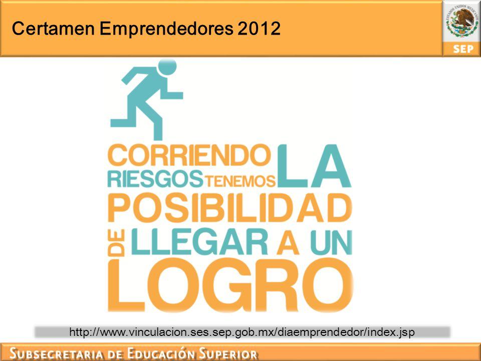 Certamen Emprendedores 2012