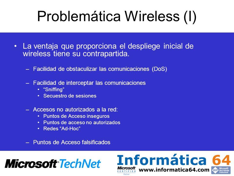 Problemática Wireless (I)