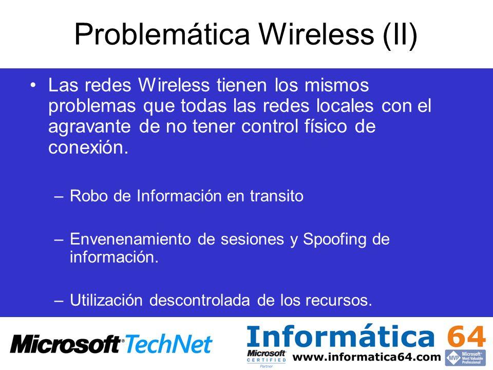 Problemática Wireless (II)
