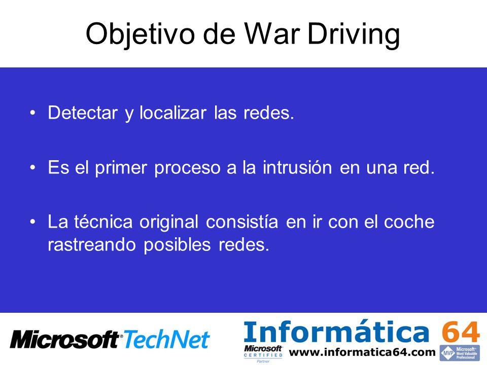 Objetivo de War Driving