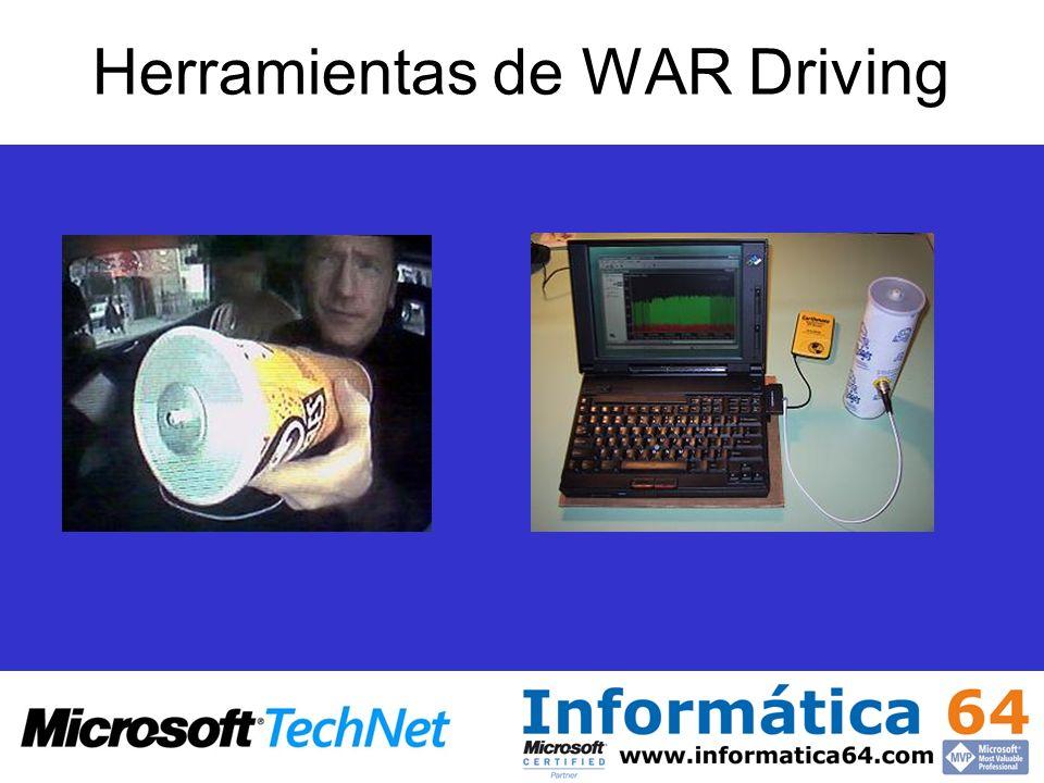 Herramientas de WAR Driving