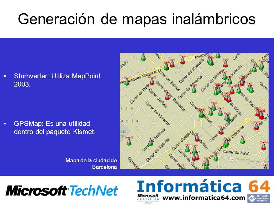 Generación de mapas inalámbricos