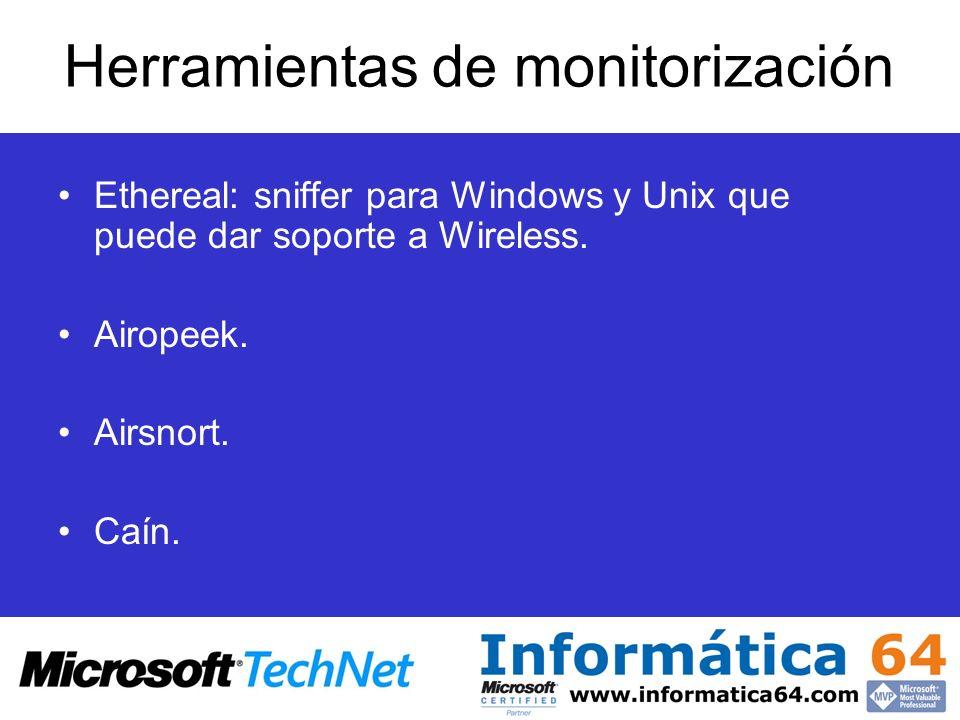 Herramientas de monitorización