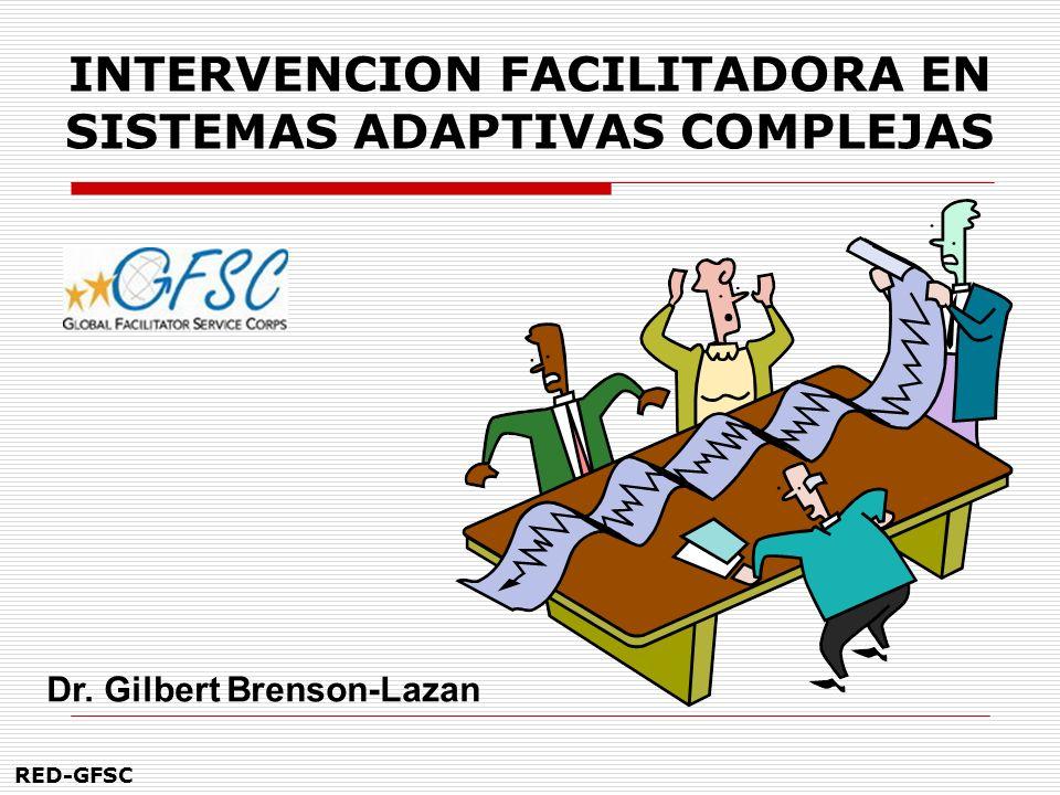 INTERVENCION FACILITADORA EN SISTEMAS ADAPTIVAS COMPLEJAS