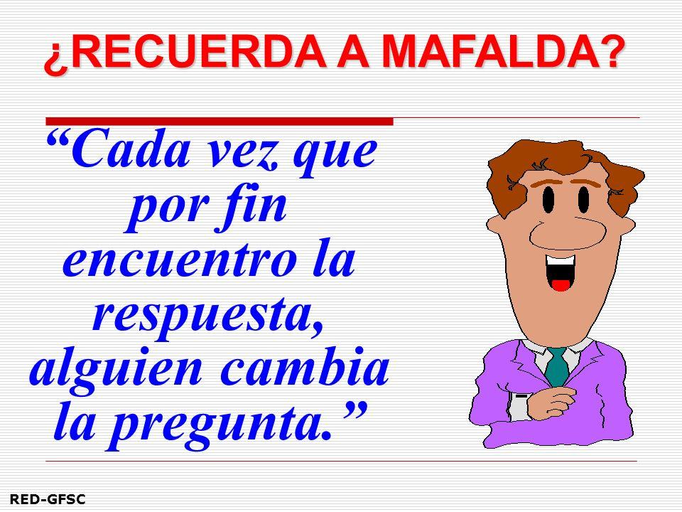 ¿RECUERDA A MAFALDA.