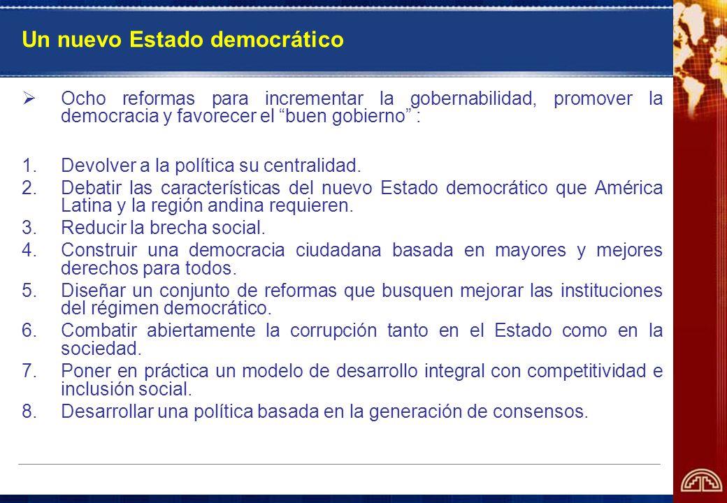 Un nuevo Estado democrático