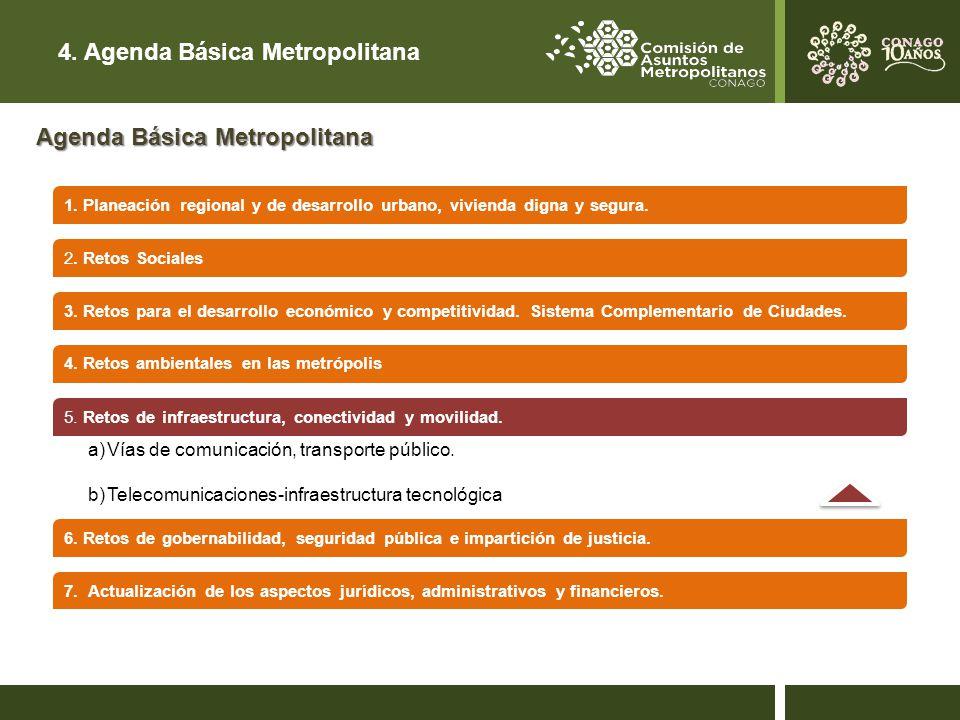4. Agenda Básica Metropolitana