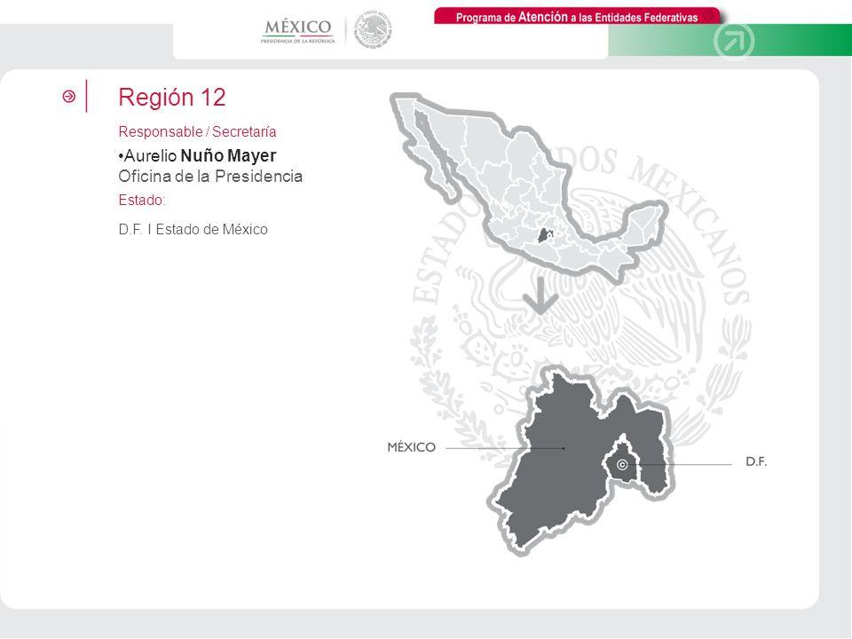 Región 12 Aurelio Nuño Mayer Oficina de la Presidencia