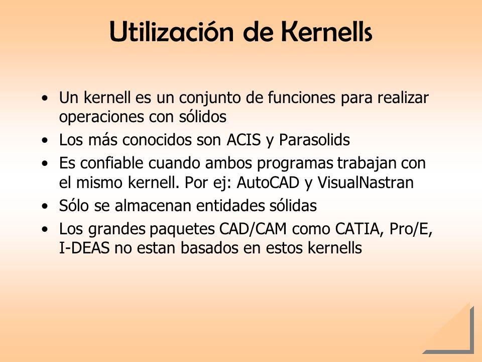 Utilización de Kernells