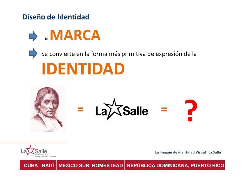 = = Diseño de Identidad la MARCA