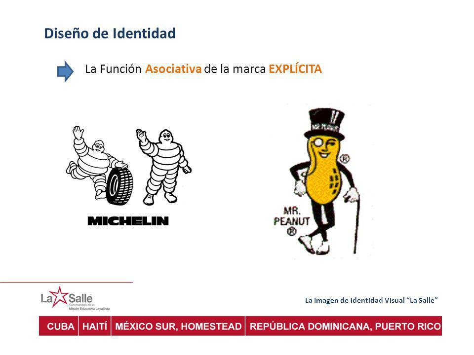 Diseño de Identidad La Función Asociativa de la marca EXPLÍCITA