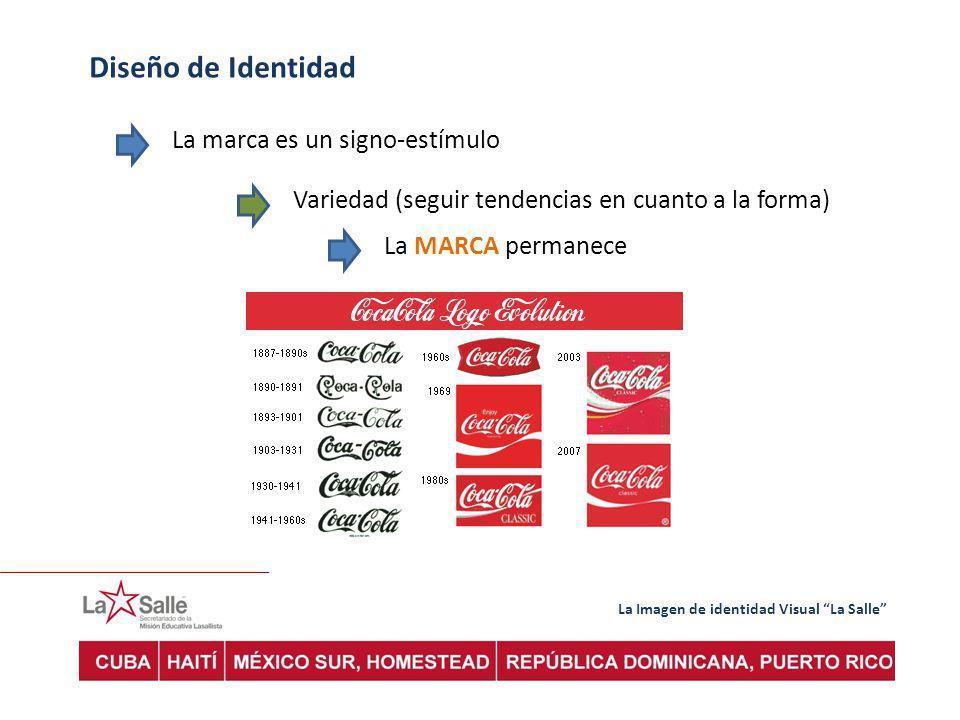 Diseño de Identidad La marca es un signo-estímulo
