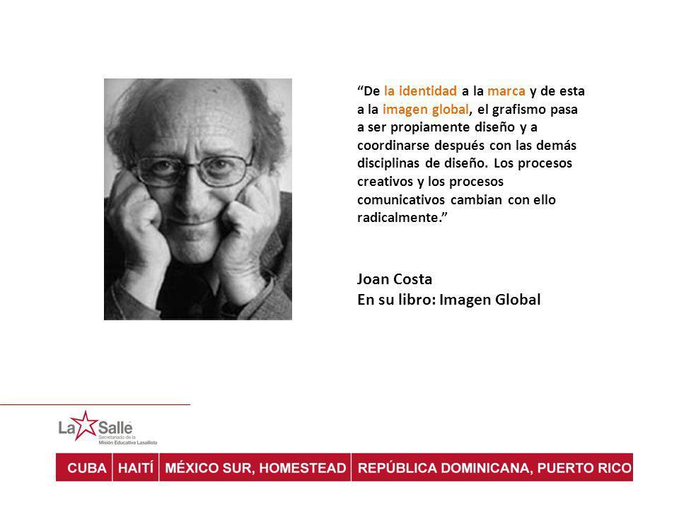 En su libro: Imagen Global